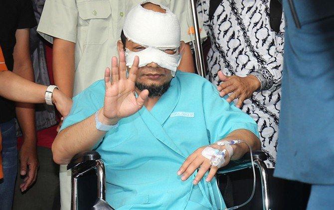 Terduga Penyerang Penyidik KPK Novel Baswedan Berhasil Ditangkap