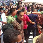 Gelar Hari Pers Nasional 2018 di Padang, Jokowi Berpura-pura Menjadi Jurnalis