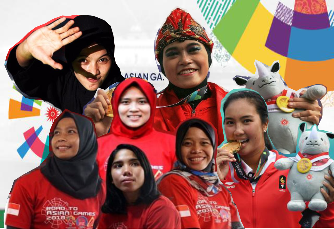 Srikandi Peraih Medali Emas Indonesia di Asian Games 2018 (2)