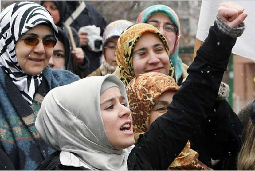 Mahkamah Turki Tegaskan Larangan Jilbab Inkonstitusional